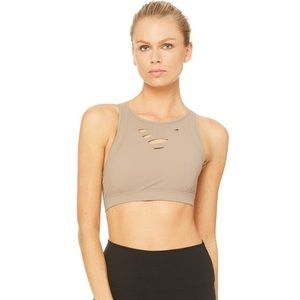 NWOT ALO yoga warrior ripped bra